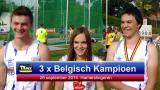 3 maal Belgisch kampioen hamerslingeren bij het gezin Vanbroekhoven