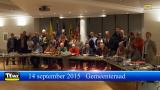 Gemeenteraad september 2015