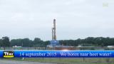 14 september 2014 Boring diepe geothermie begonnen