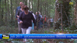 """Aan de gemeenteraadsleden """"Bezoek ons bos"""""""