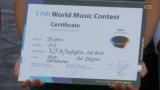 Fanfare Mol-Sluis 2é op het Wereld Music Contest